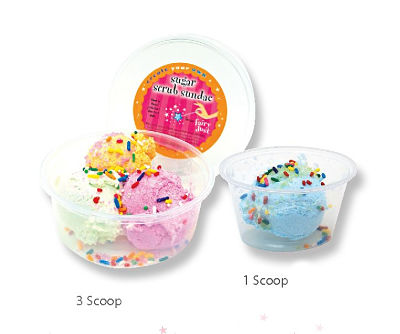 Sugar Scrub Triple Scoop